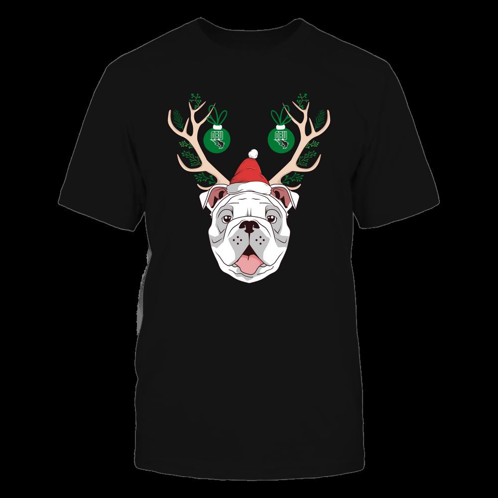 Oklahoma Baptist Bison - Christmas - Bulldog Deer - Team Front picture
