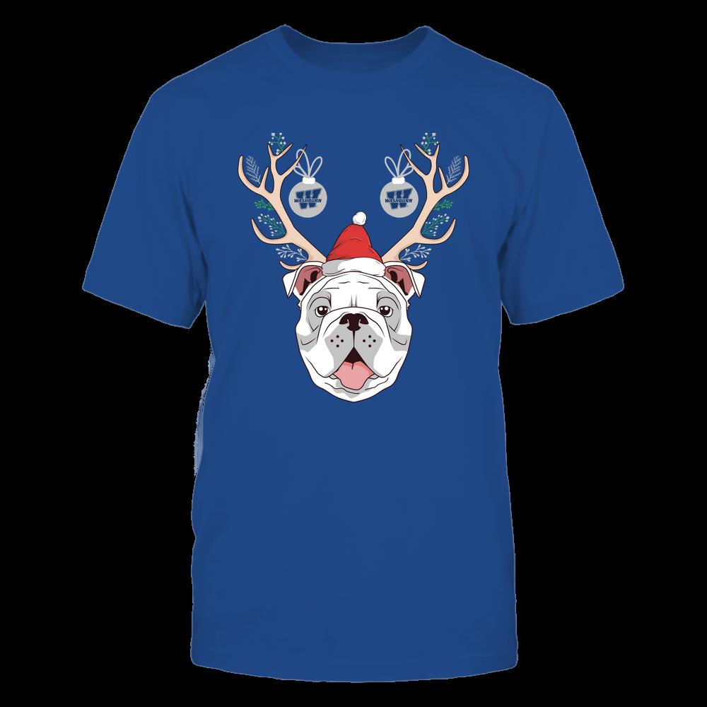 Washburn Ichabods - Christmas - Bulldog Deer - Team Front picture