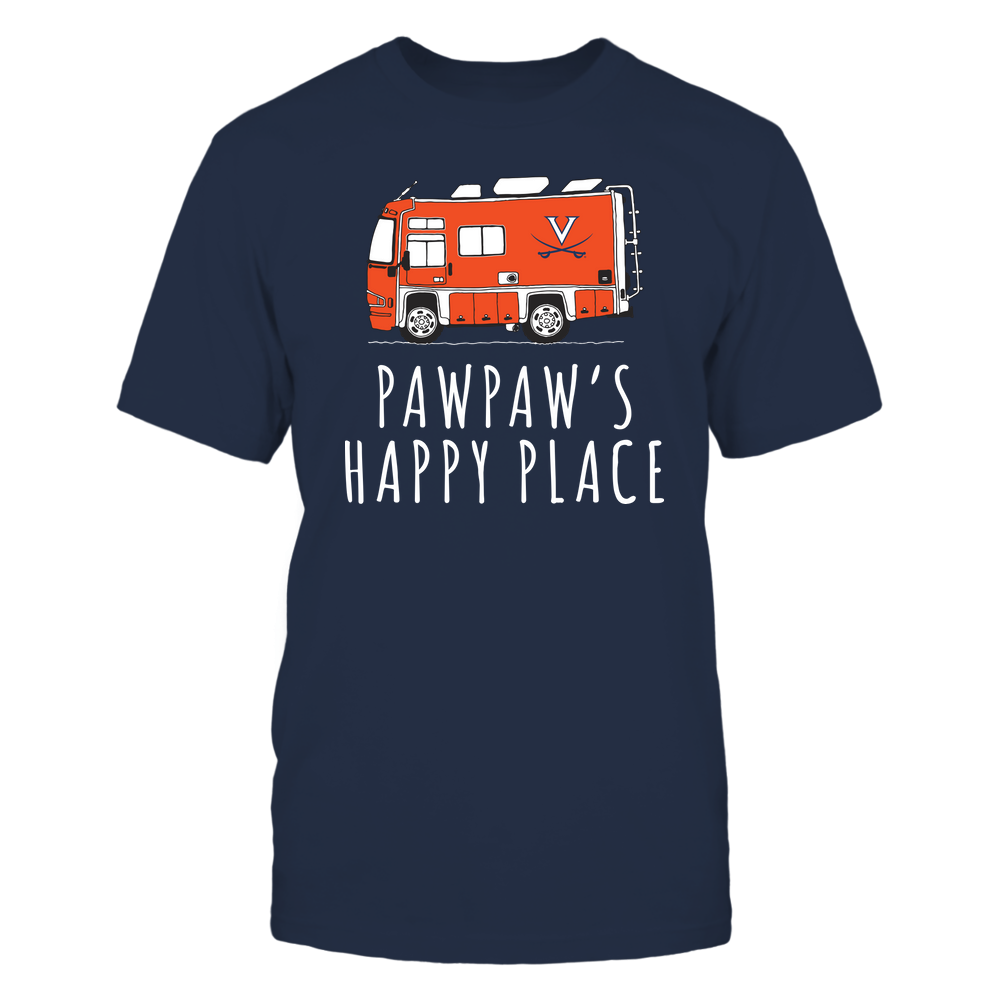 Virginia Cavaliers - Camping - Pawpaw's Happy Place - Team Front picture