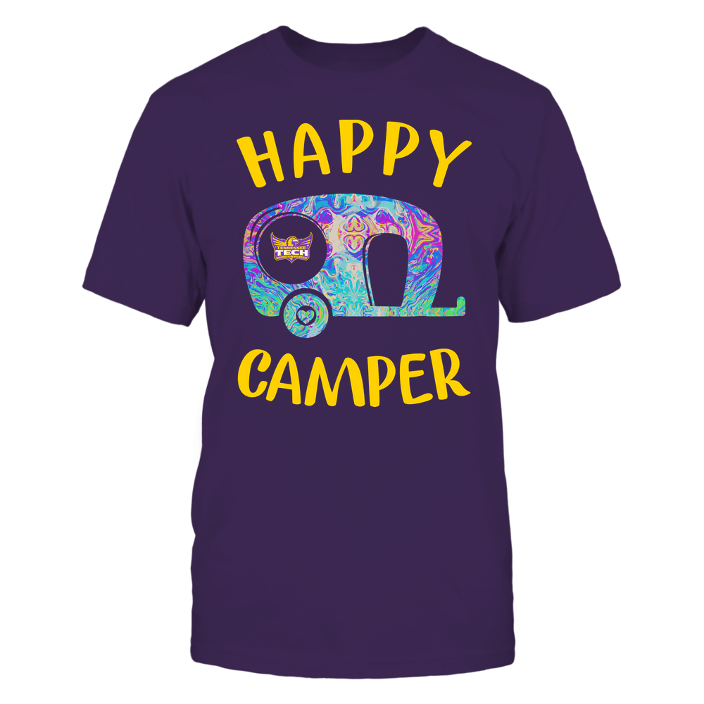 Tennessee Tech Golden Eagles - Camping - Rainbow Swirl Pattern - Camping Car Front picture