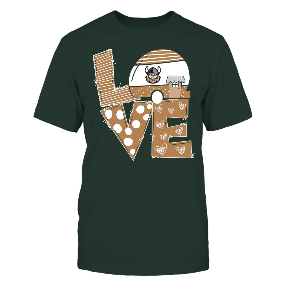 Cleveland State Vikings - Camping - Stacked Love Camping Car - Hand Drawn Pattern Front picture