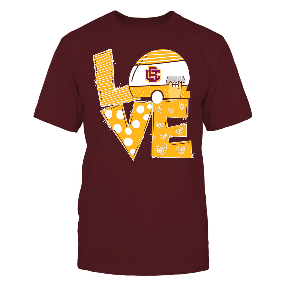 Bethune-Cookman Wildcats - Camping - Stacked Love Camping Car - Hand Drawn Pattern Front picture