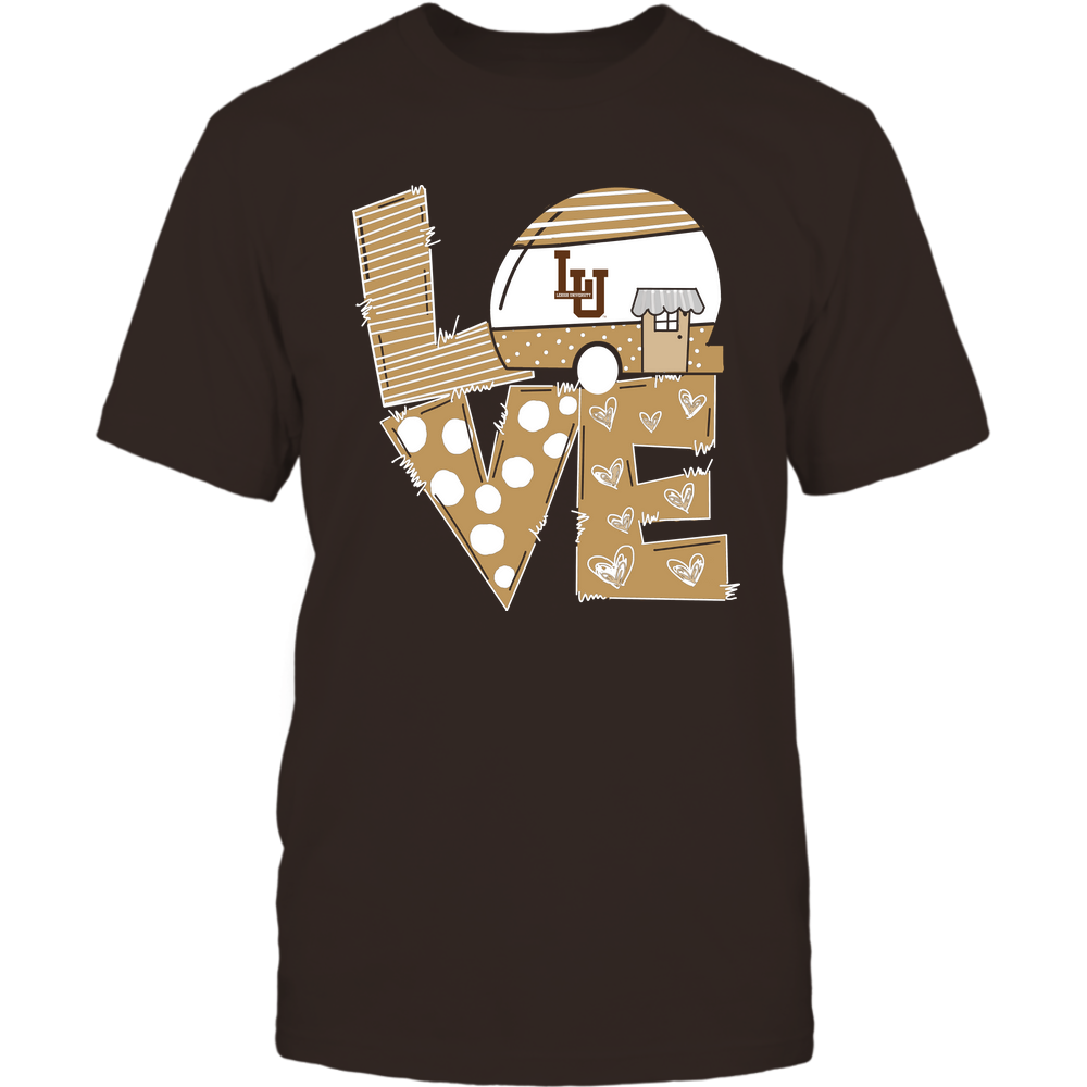 Lehigh Mountain Hawks - Camping - Stacked Love Camping Car - Hand Drawn Pattern Front picture