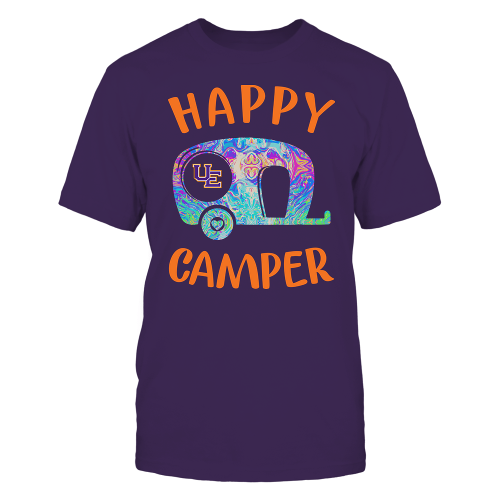 Evansville Purple Aces - Camping - Rainbow Swirl Pattern - Camping Car Front picture