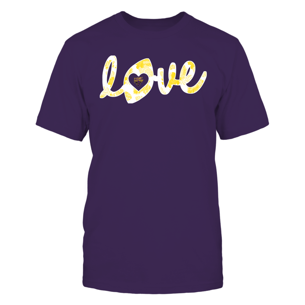 Minnesota State Mavericks - Football - Love Lowercase - Tropical Pattern Front picture