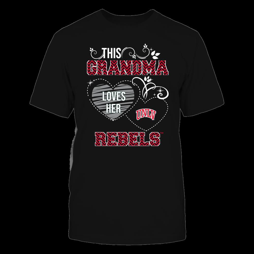 UNLV Rebels - This Grandma Loves Team - Mascot - Chevron Pattern Front picture