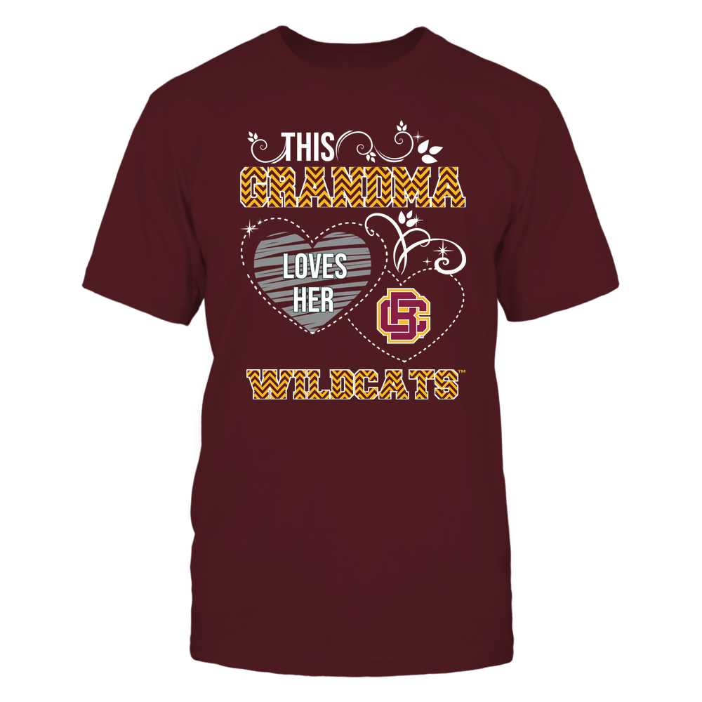 Bethune-Cookman Wildcats - This Grandma Loves Team - Mascot - Chevron Pattern Front picture