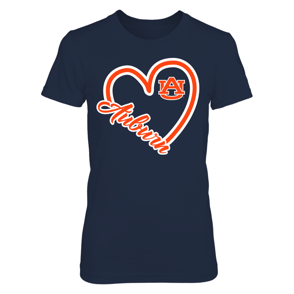 Auburn Tigers - Heart Front picture