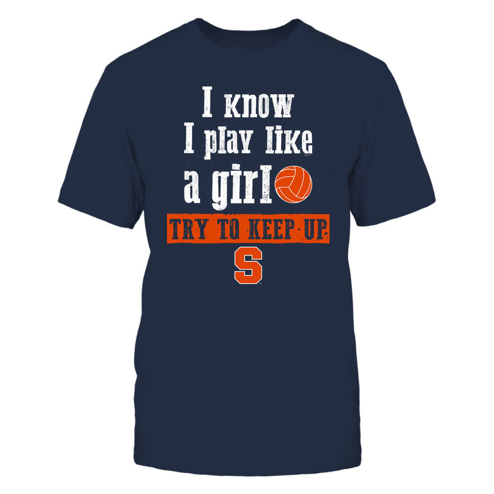Syracuse Orange - Play Like A Girl - Volleyball - Team Front picture