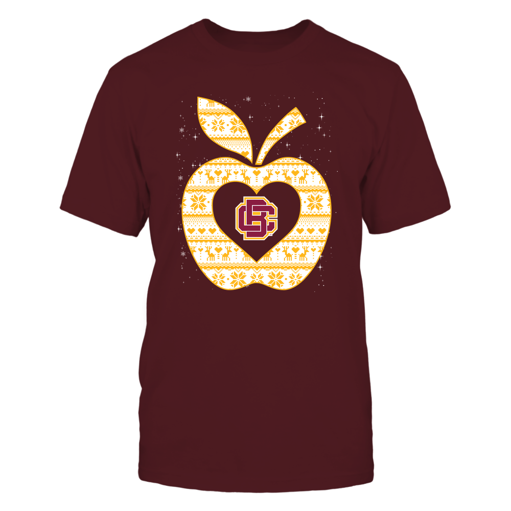 Bethune-Cookman Wildcats - Christmas ^ Teacher ^ Ugly Sweater ^ Apple Front picture