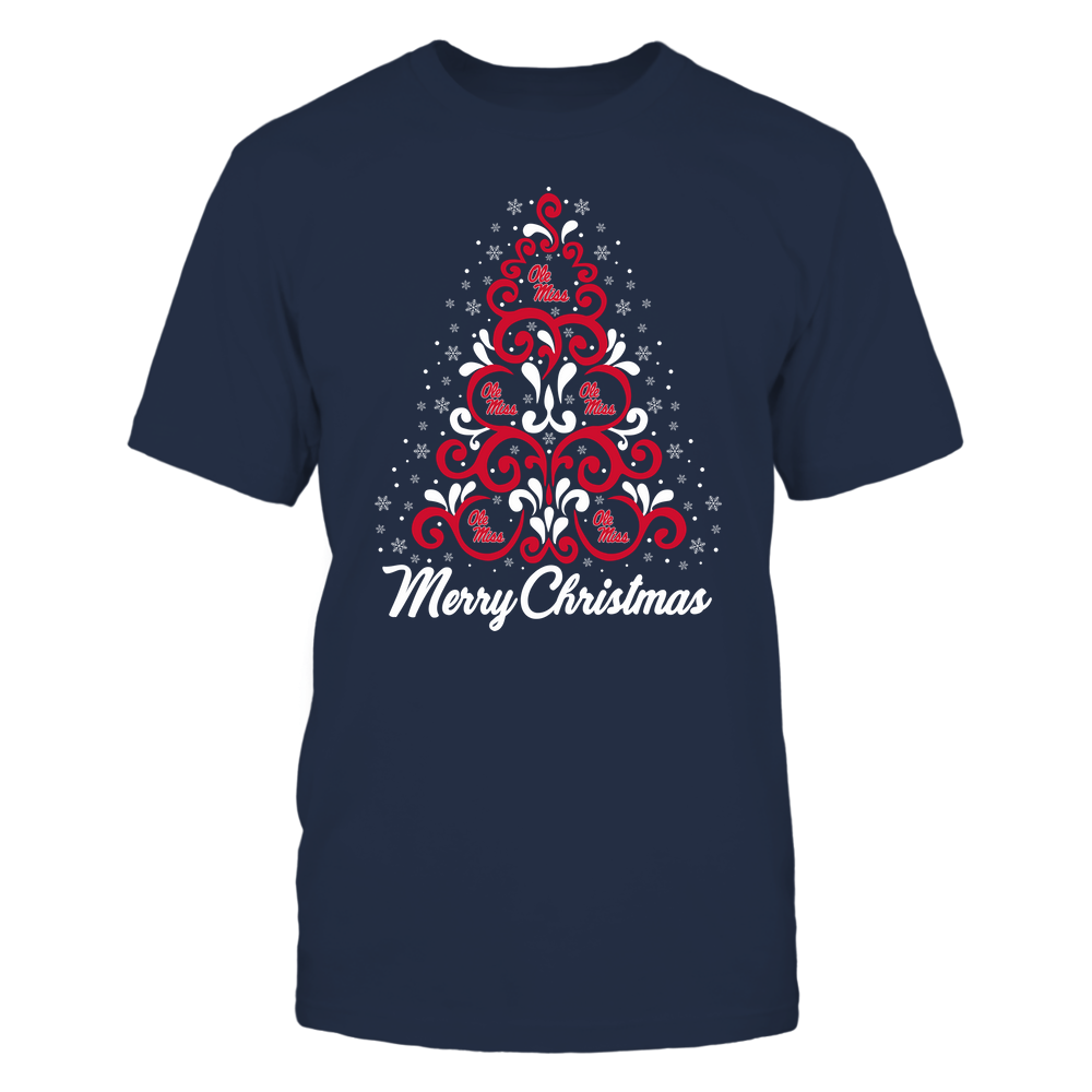 Ole Miss Rebels - Christmas - Christmas Tree - Team Front picture