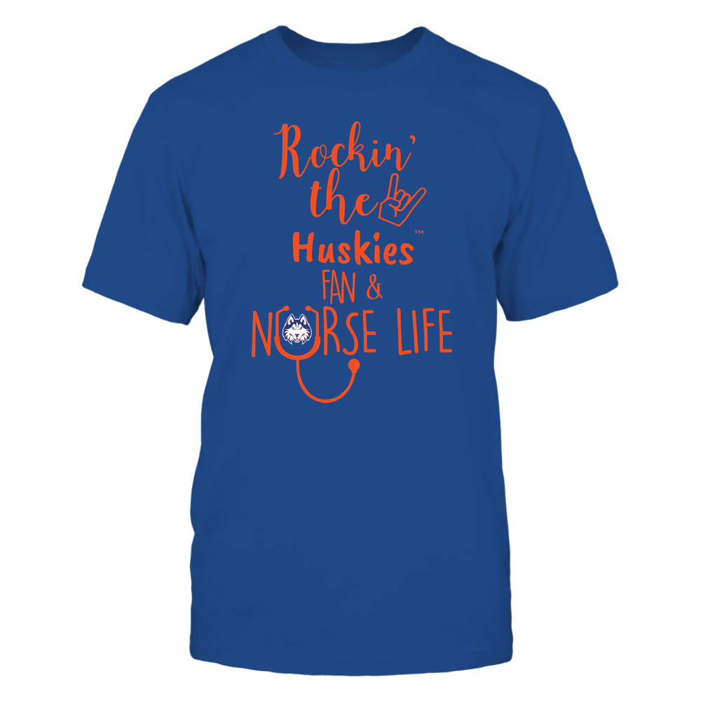 Houston Baptist Huskies - Nurse - Rockin Life - Team Front picture