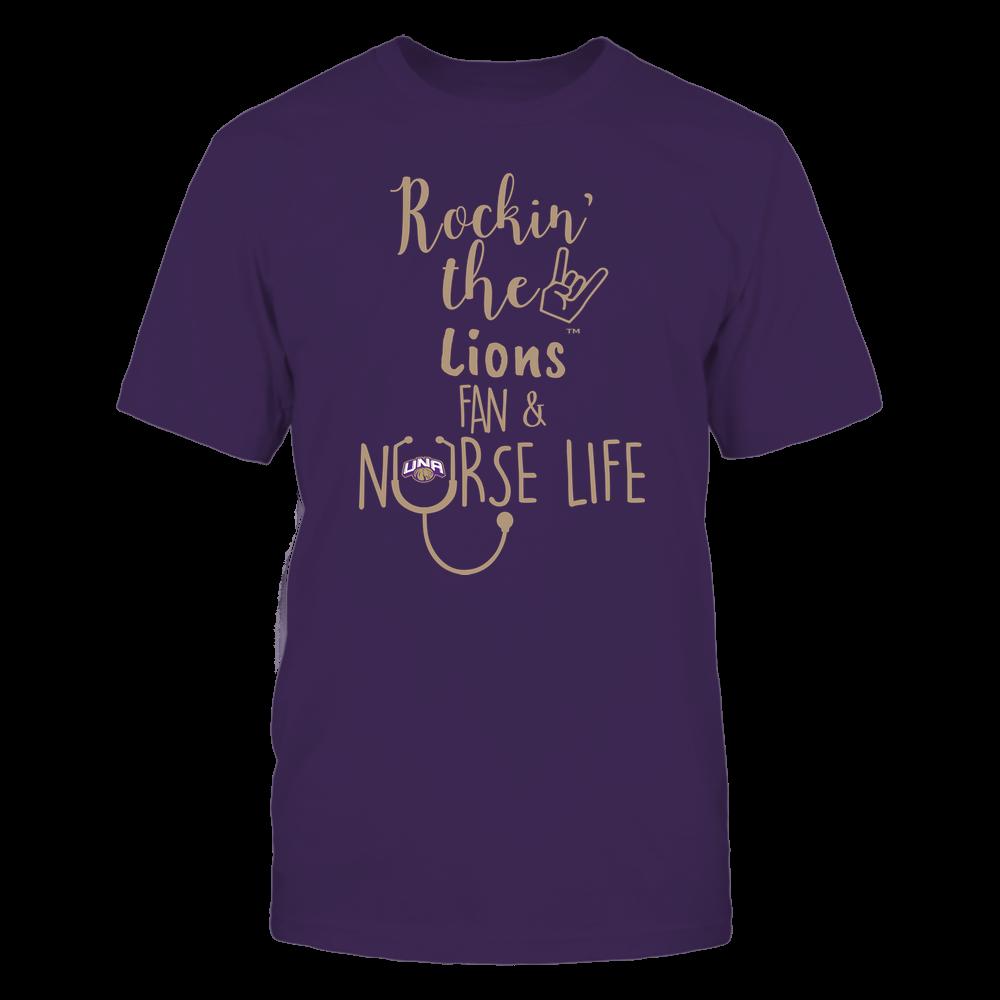 North Alabama Lions - Nurse - Rockin Life - Team Front picture