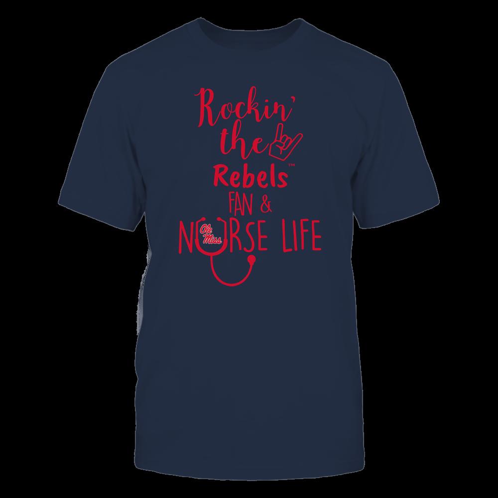 Ole Miss Rebels - Nurse - Rockin Life - Team Front picture