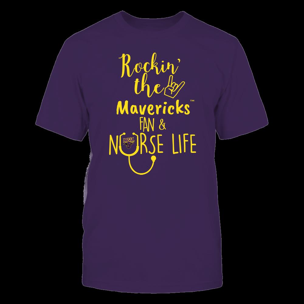 Minnesota State Mavericks - Nurse - Rockin Life - Team Front picture