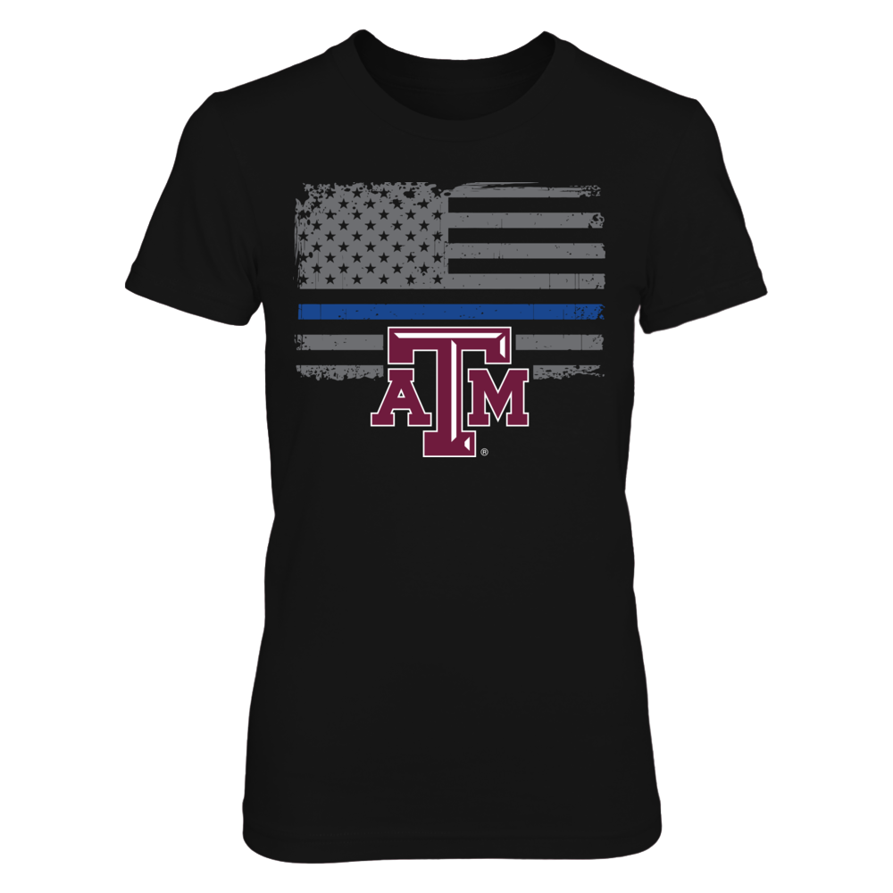 Texas A&M Aggies - Thin Blue Line Front picture