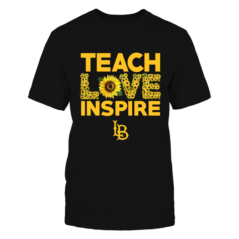 Long Beach State 49ers - Teach Love Inspire - Sunflower  - IF82-IC82-DS85 Front picture