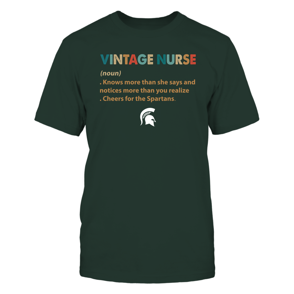 Michigan State Spartans - Nurse - Vintage Nurse - IF13-IC13-DS29 Front picture
