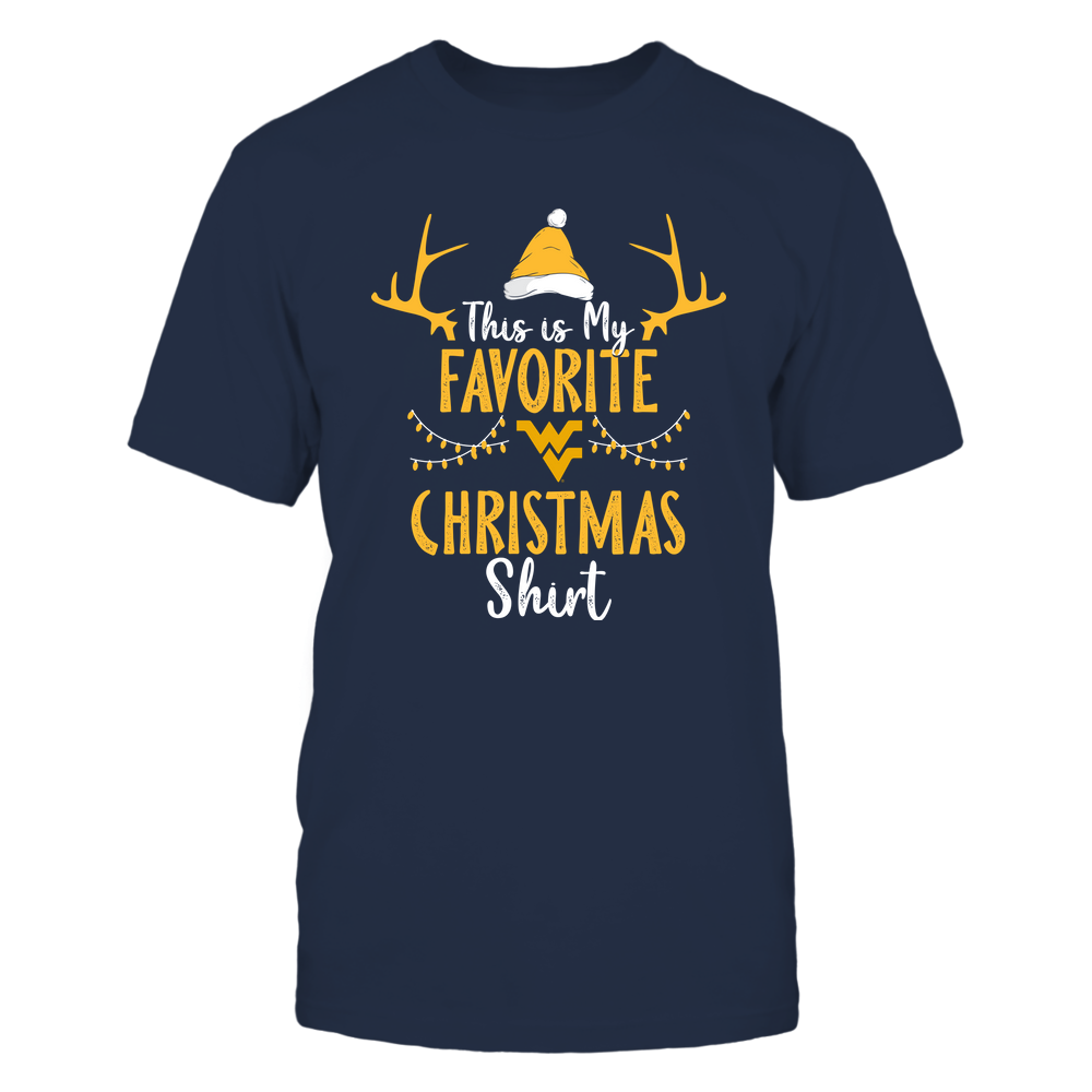 West Virginia Mountaineers - Christmas - My Favorite Christmas - Team Front picture