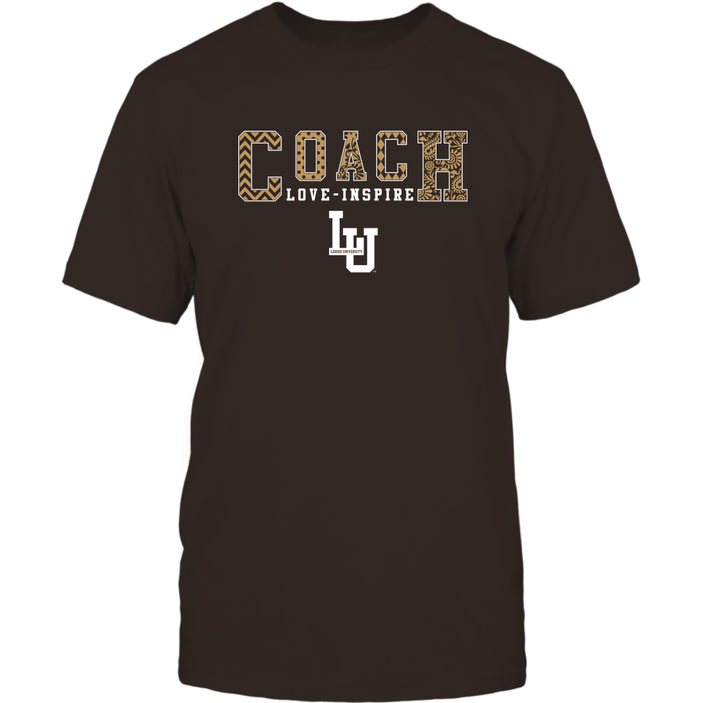 Lehigh Mountain Hawks - Coach Love Inspire - Slogan Patterned - Team Front picture