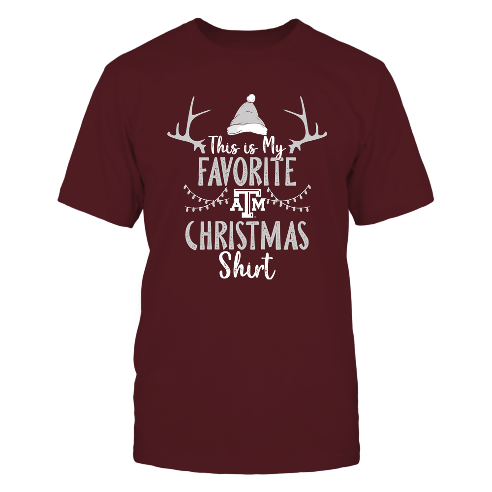 Texas A&M Aggies - Christmas - My Favorite Christmas - Team Front picture