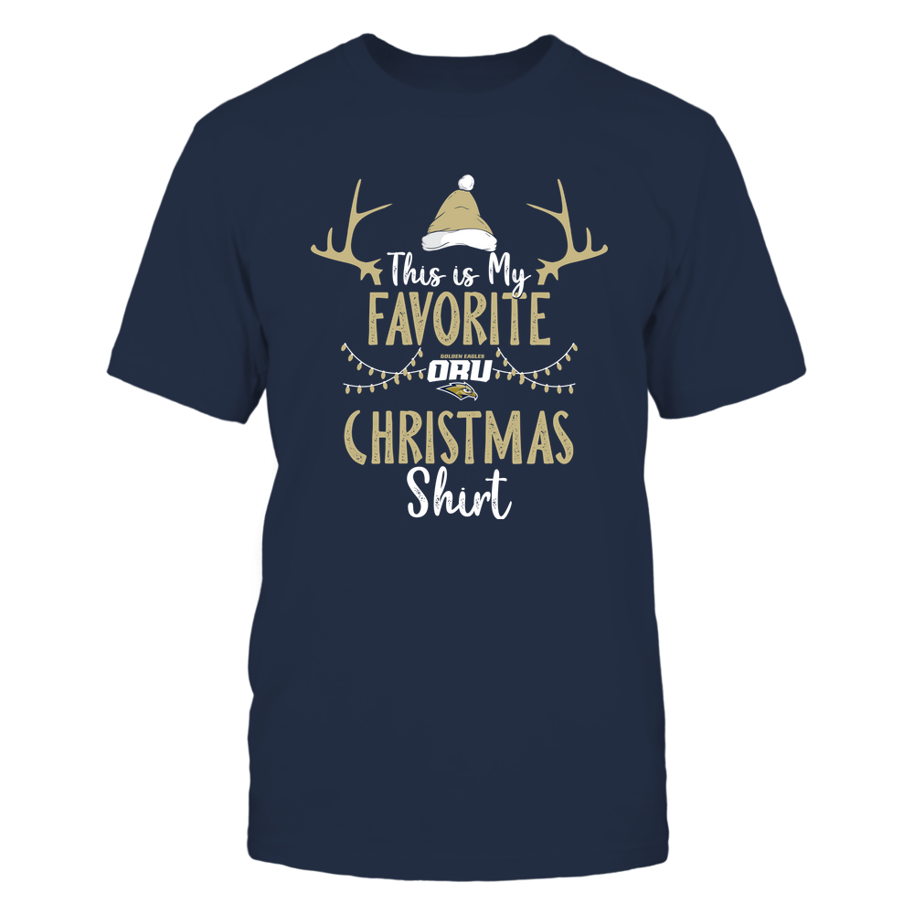 Oral Roberts Golden Eagles - Christmas - My Favorite Christmas - Team Front picture