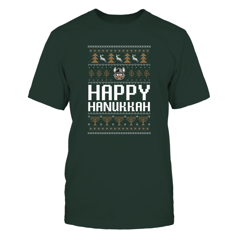Cleveland State Vikings - Hanukkah - Happy Hanukkah Sweater - Team Front picture