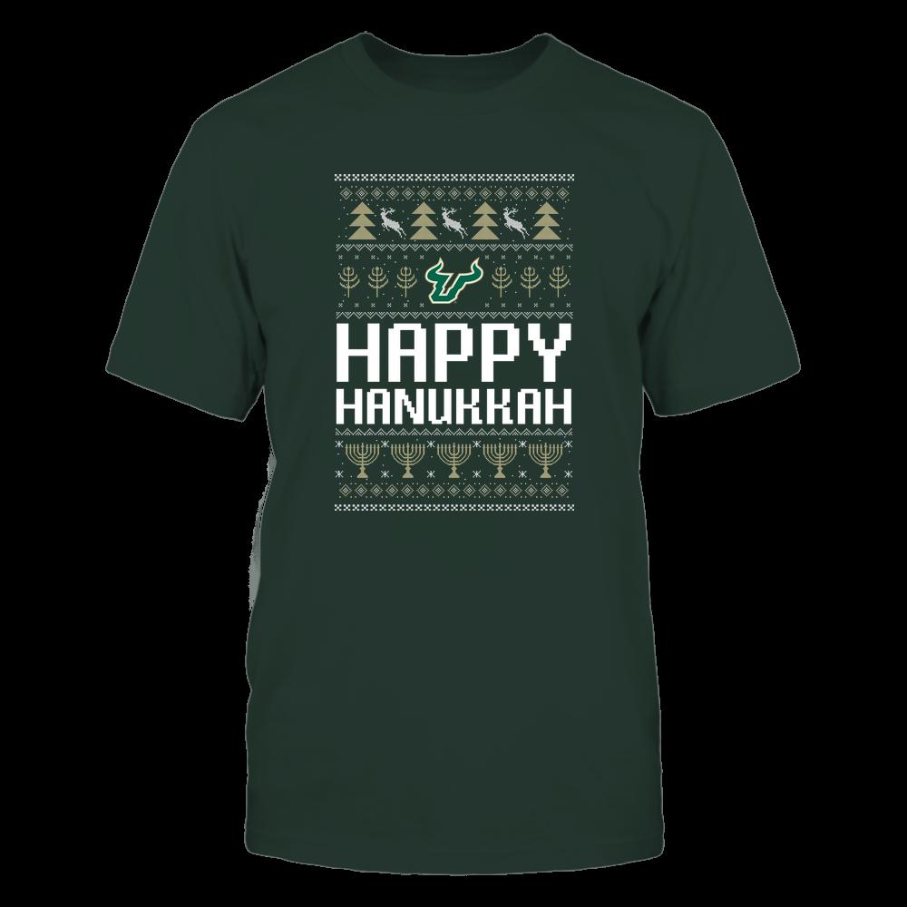 South Florida Bulls - Hanukkah - Happy Hanukkah Sweater - Team Front picture