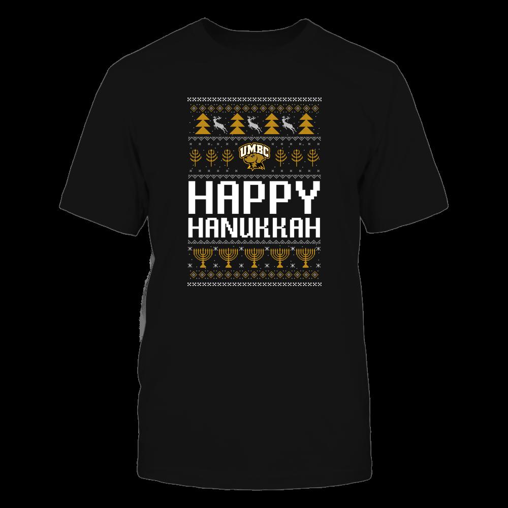 UMBC Retrievers - Hanukkah - Happy Hanukkah Sweater - Team Front picture
