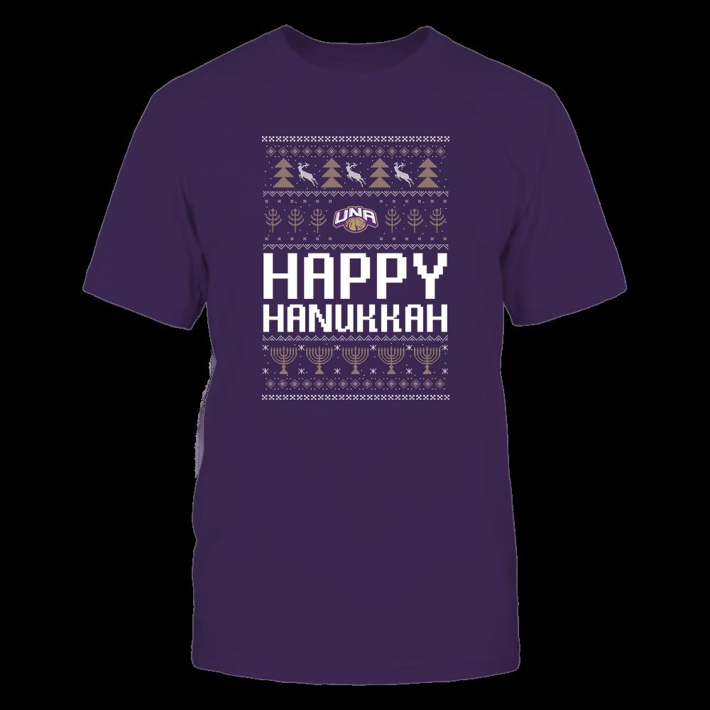 North Alabama Lions - Hanukkah - Happy Hanukkah Sweater - Team Front picture