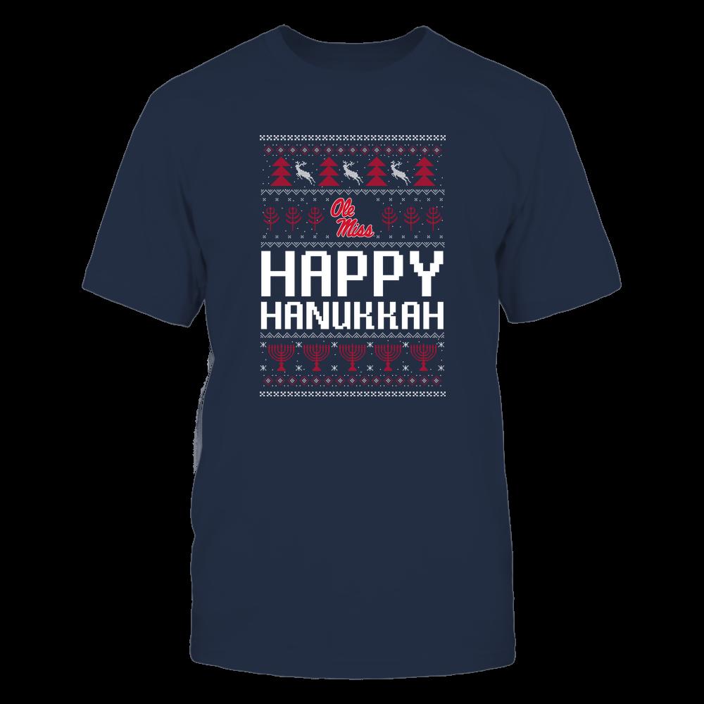 Ole Miss Rebels - Hanukkah - Happy Hanukkah Sweater - Team Front picture