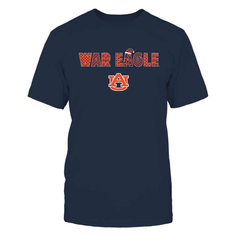 Auburn Tigers - Xmas - Slogan - Christmas Pattern - IF32-IC32-DS38 Front picture