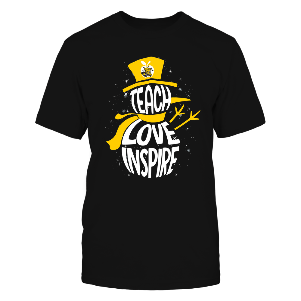 Wichita State Shockers - 19102910069 - Xmas - Teacher - Teach Love Inspire Inside - APCX - IF13-IC13-DS27 Front picture