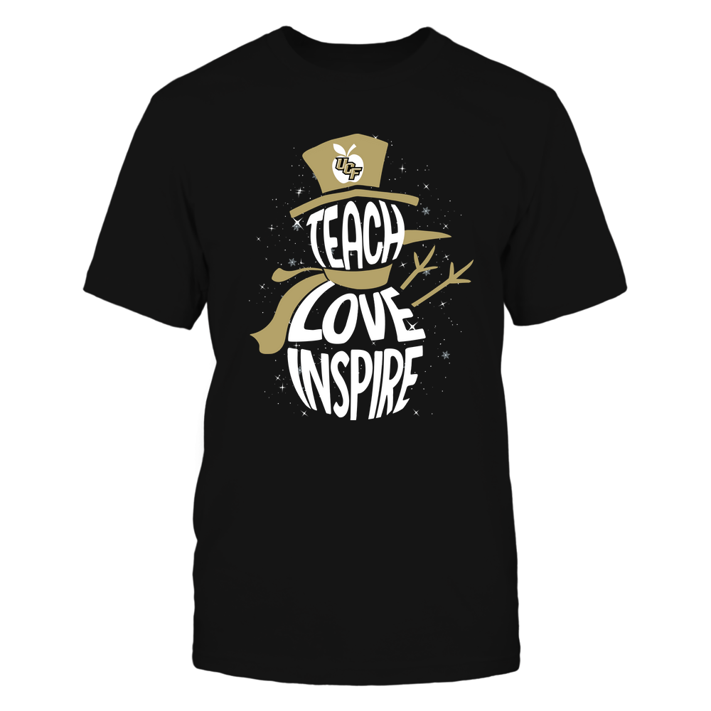 UCF Knights - 19102910069 - Xmas - Teacher - Teach Love Inspire Inside - APCX - IF13-IC13-DS27 Front picture
