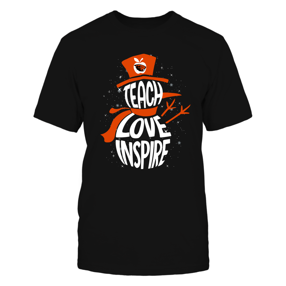 Oregon State Beavers - 19102910069 - Xmas - Teacher - Teach Love Inspire Inside - APCX - IF13-IC13-DS27 Front picture