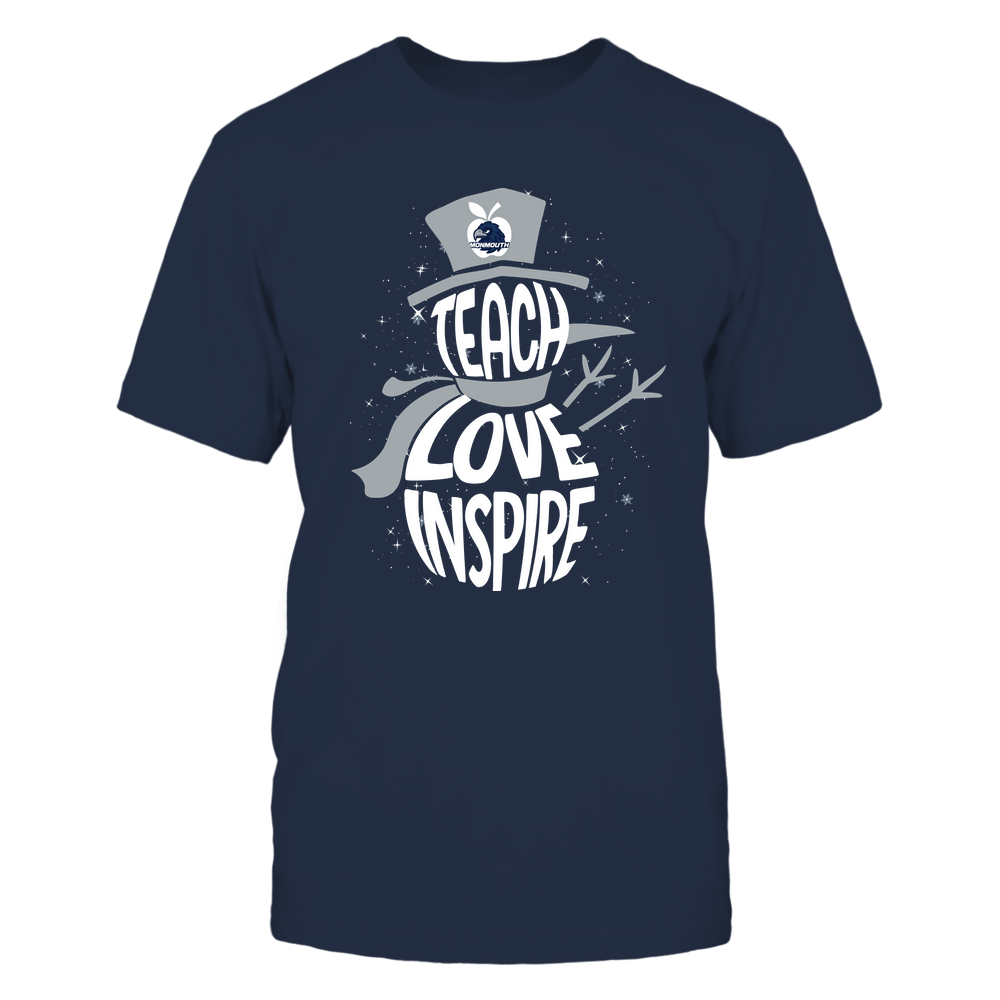 Monmouth Hawks - 19102910069 - Xmas - Teacher - Teach Love Inspire Inside - APCX - IF13-IC13-DS27 Front picture