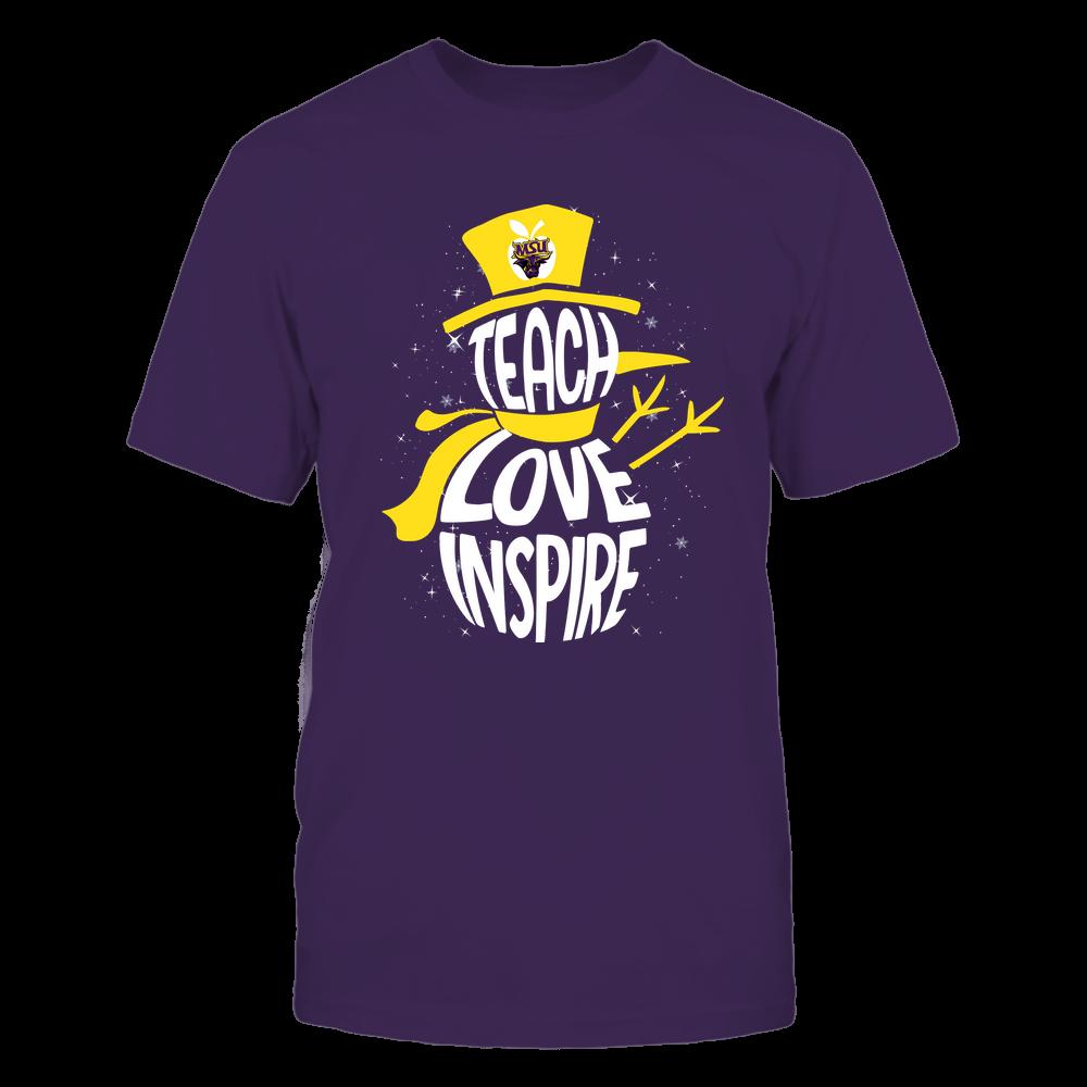 Minnesota State Mavericks - 19102910069 - Xmas - Teacher - Teach Love Inspire Inside - APCX - IF13-IC13-DS27 Front picture