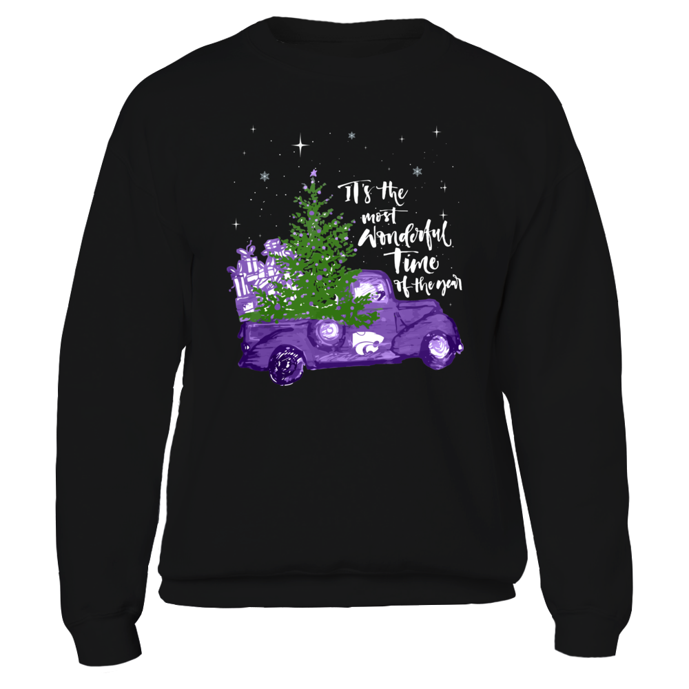 Kansas State Wildcats - Christmas - Most Wonderful Time  - IF-IC32-DS63 Front picture