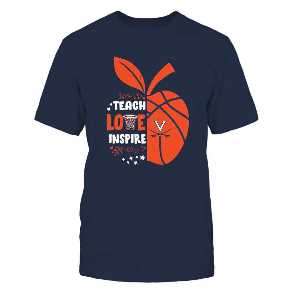 Virginia Cavaliers - Teacher - Half Apple Basketball - IF82-IC82-DS38 Front picture