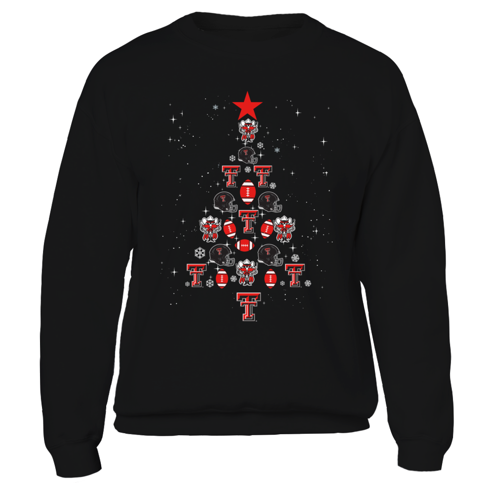 Texas Tech Red Raiders - Christmas Tree of Team Things Front picture