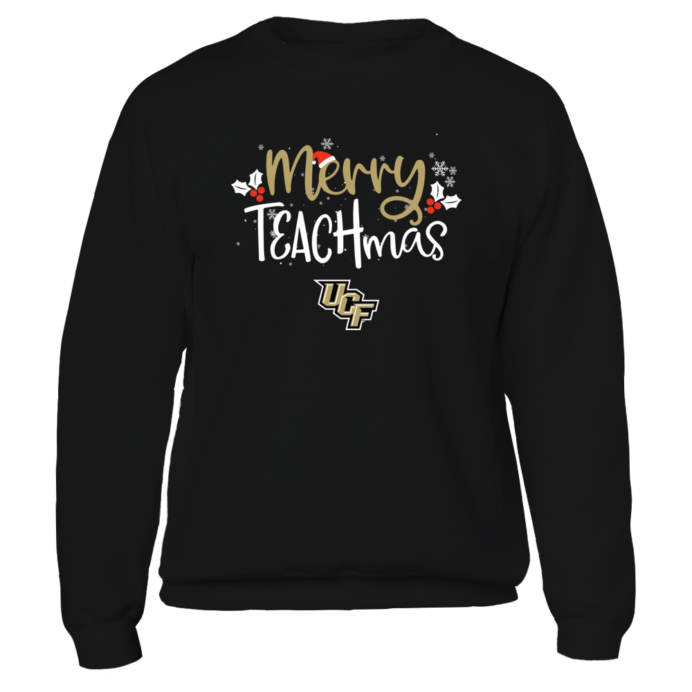 UCF Knights - Xmas - Teacher -  Merry Teachmas - IF32-IC32-DS38 Front picture