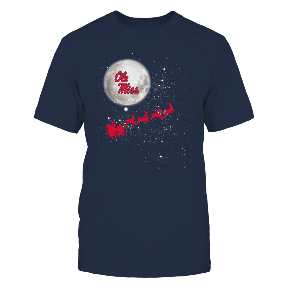 Ole Miss Rebels - 19110410180 - Football Sleigh - APCX - IF32-IC32-DS45 Front picture