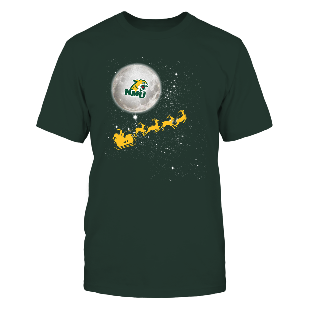 Northern Michigan Wildcats - 19110410180 - Football Sleigh - APCX - IF32-IC32-DS45 Front picture