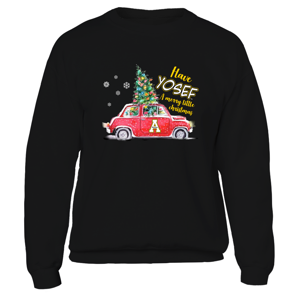 Appalachian State Mountaineers - Have Yosef Christmas Truck - IF-IC32-DS85 Front picture