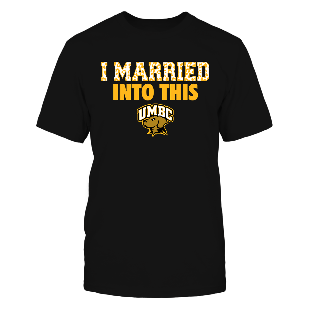 UMBC Retrievers - I Married Into This - Leopard Pattern Front picture