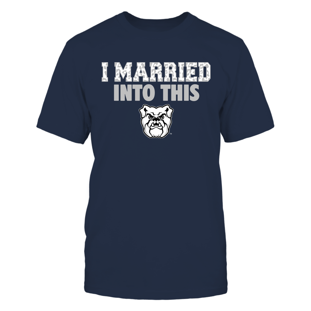 Butler Bulldogs - I Married Into This - Leopard Pattern Front picture