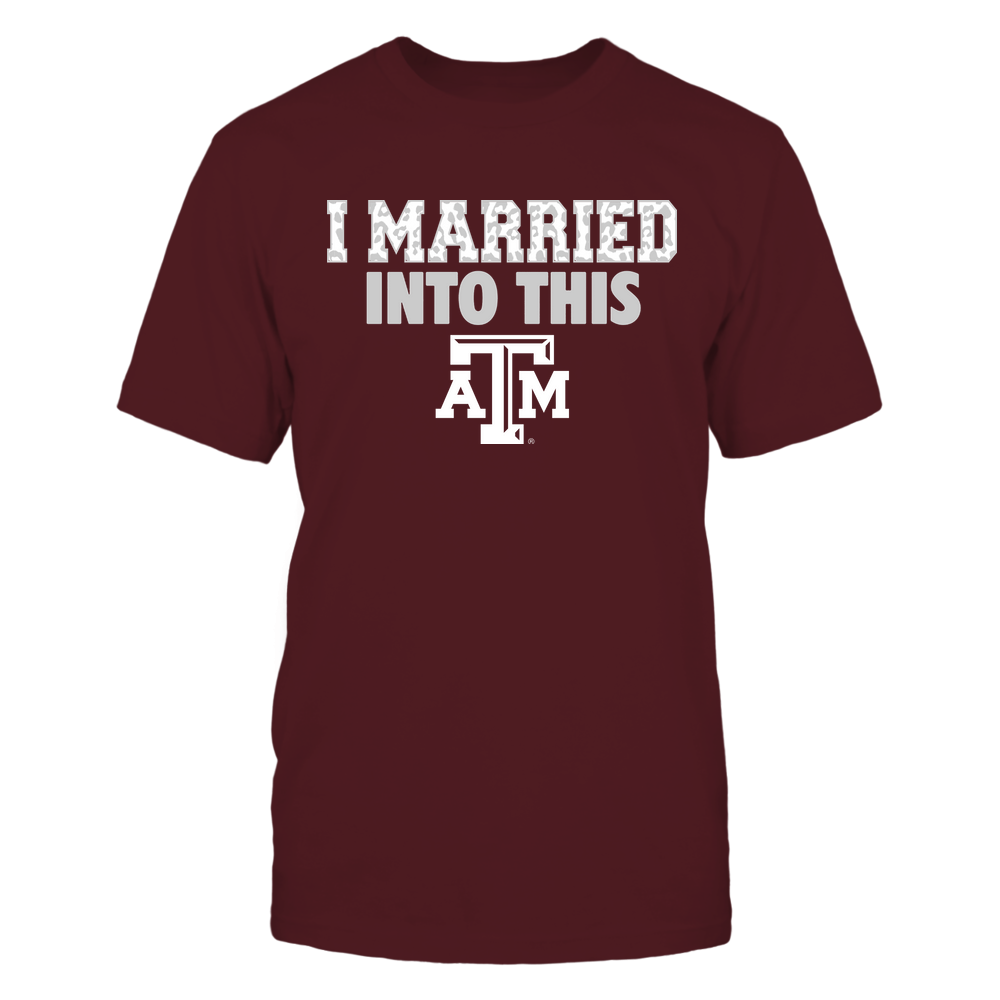 Texas A&M Aggies - I Married Into This - Leopard Pattern Front picture