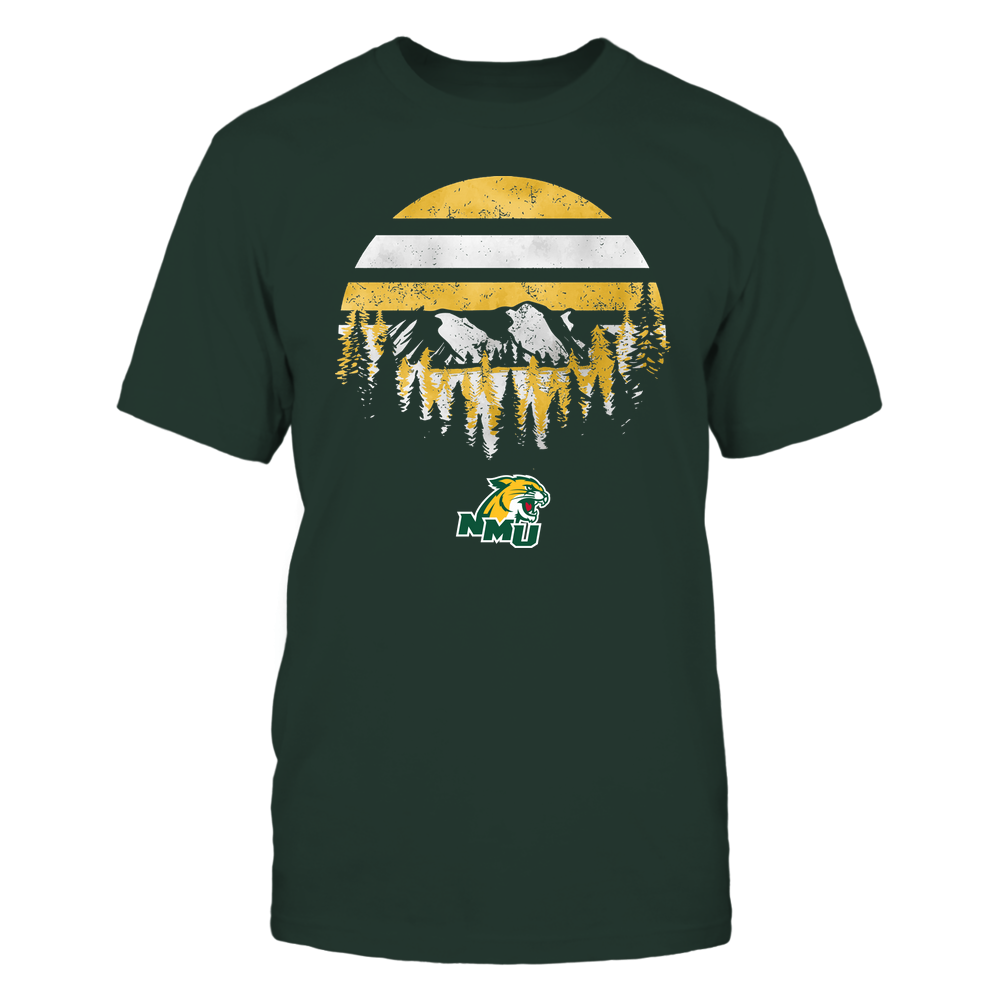 Northern Michigan Wildcats - Camping - Deeply Wild - Team Front picture