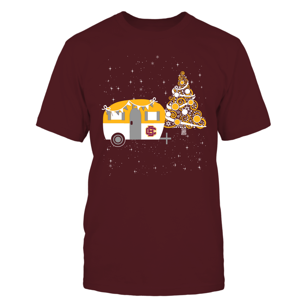 Bethune-Cookman Wildcats - Christmas - Camping - Christmas Tree Front picture
