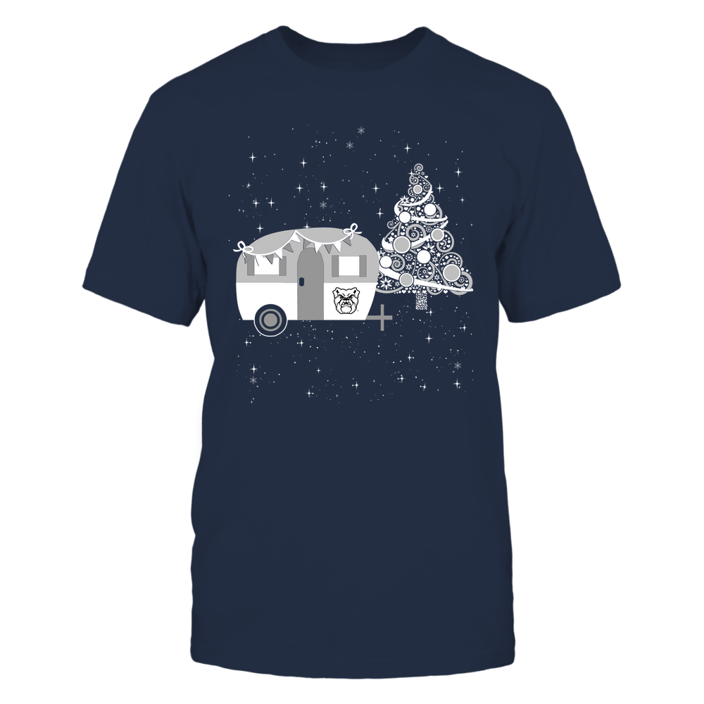 Butler Bulldogs - Christmas - Camping - Christmas Tree Front picture